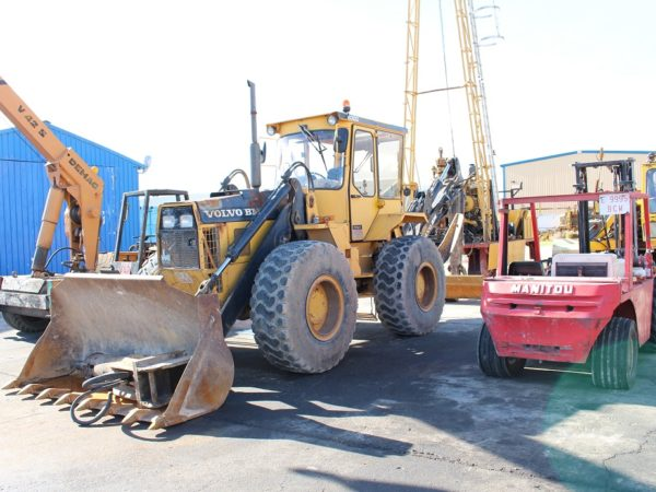 compra de activo excavadora