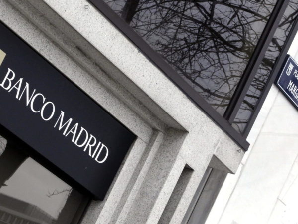 concurso fortuito del Banco Madrid