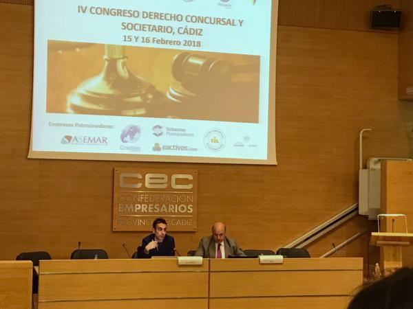 congreso derecho concursal y societario