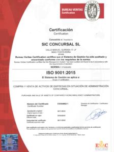 certificacion ISO9001:2015